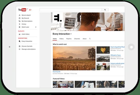 קידום ב - YouTube
