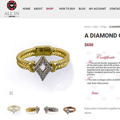 אתר מכירות לתכשיטי פוקר