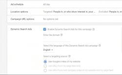 קמפיין מודעות דינמיות ברשת החיפוש