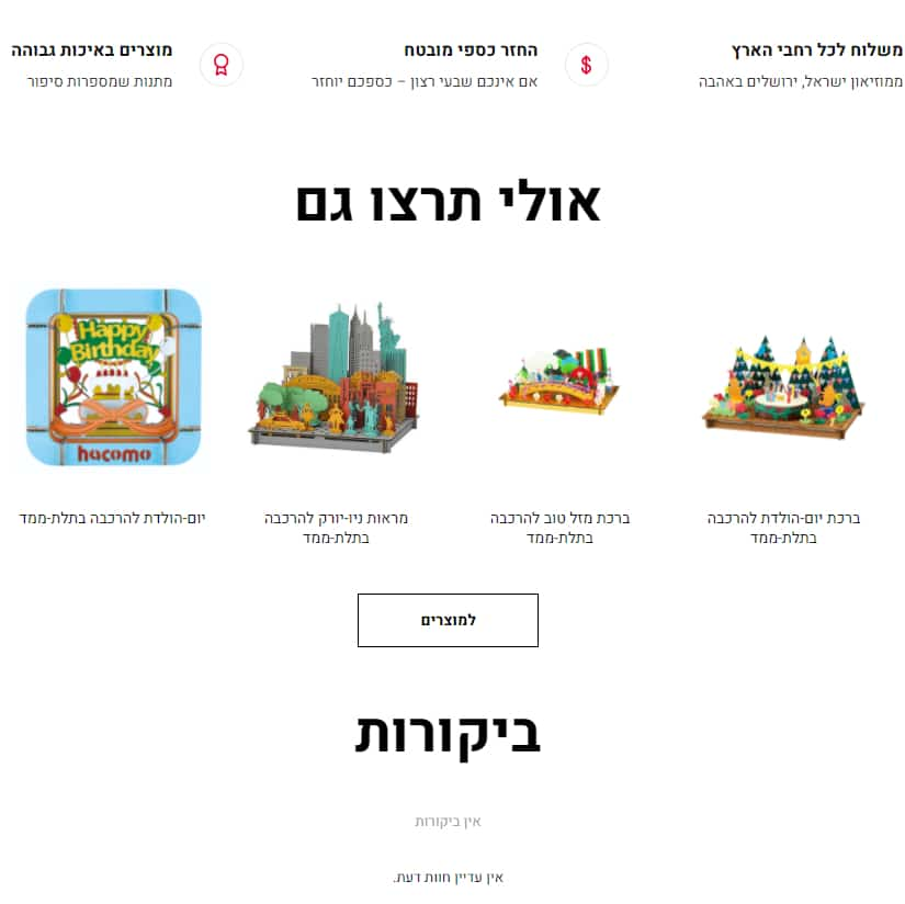 חנות מוזיאון ישראל